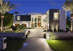 Modern Estate Home Plans Luxury Homes New Ultra Modern Intracoastal Estate 1175
