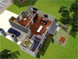 Modern Family Home Plan Floor Plan Of Modern Family House 3d Modern House Plan