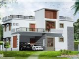 Modern Flat Roof Home Plans 3 Bedroom Contemporary Flat Roof House Kerala Home