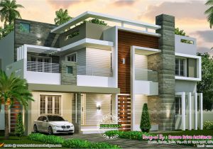 Modern Home Design Plans 4 Bedroom Contemporary Home Design Kerala Home Design