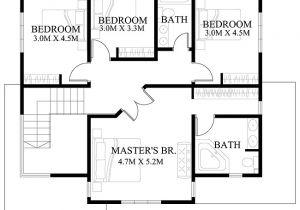 Modern Home Floor Plans Designs Modern House Design Series Mhd 2012006 Pinoy Eplans