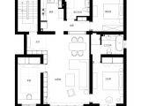 Modern Home Floor Plans Shanghai Apartment with Modern Minimalist Flair