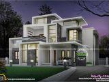Modern Home House Plans Grand Contemporary Home Design Kerala Home Design and