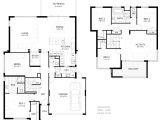 Modern Home Layout Plans Pictures Of 2 Storey Modern Minimalist House Plan 4 Home