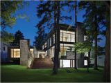 Modern Home Plans Canada Contemporary House Architecture Ravine House In Urban Canada