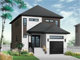 Modern Home Plans for Small Lots Modern Contemporary Narrow Lot House Plans Luxury Narrow