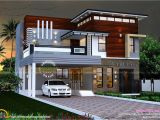Modern Home Plans In Kerala Eterior Design Modern Small House Architecture Building