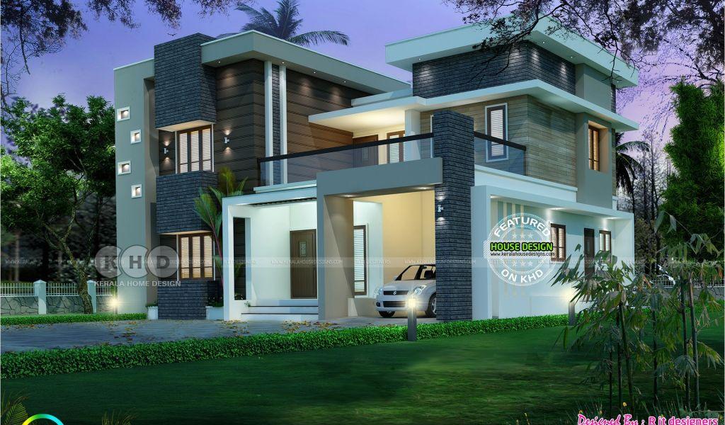 Modern Home Plans In Kerala June 2017 Kerala Home Design And Floor