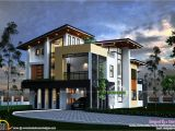 Modern Home Plans In Kerala Kerala Contemporary House Kerala Home Design and Floor Plans