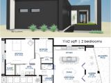 Modern Home Plans with Courtyard 1162 Small Modern House Plan Courtyard House Plans