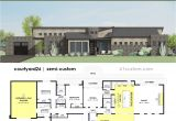 Modern Home Plans with Courtyard Contemporary Side Courtyard House Plan 61custom