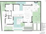 Modern Home Plans with Courtyard Courtyard House Designs sows Modern Courtyard Home Designs