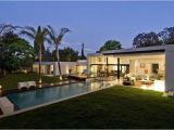 Modern Home Plans with Pool House Plans and Design Contemporary House Plans with Pools