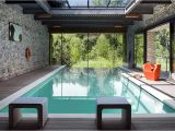 Modern Home Plans with Pool Modern Indoor Swimming Pool with Glass Roof Home