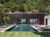 Modern Home Plans with Pool Small Modern House with Pool