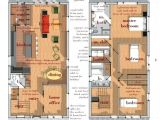 Modern House Plans by Lot Size Ultra Modern Narrow Lot House Plans
