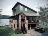 Modern Lakefront Home Plans Farmhouse Plans Lake House Plans