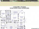 Modern Luxury Home Floor Plans Courtyard House Plans 61custom Contemporary Modern