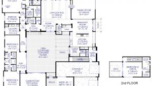 Modern Luxury Home Floor Plans Luxury Modern Courtyard House Plan 61custom