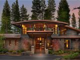 Modern Mountain Home Plans A Spectacular Modern Mountain Style Dwelling In Martis Camp