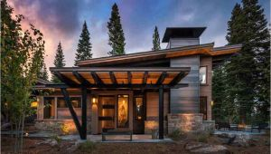 Modern Mountain Home Plans This Modern Mountain Retreat is Ideal Place to Unwind
