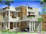 Modern Style Home Plans General Square Feet Modern House Elevation Kerala Home