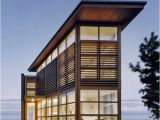 Modern Waterfront Home Plans Waterfront Property with A Modern Loft Aesthetic In