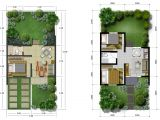 Modest Home Plans Modest Home In A Narrow Site Rhm Architect