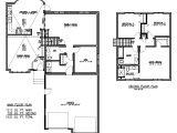 Modified Bi Level Homes Floor Plans Modified Bi Level Home Plans New Split Foyer House Plans