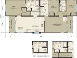 Modular Contemporary Homes Floor Plans Modular Home Floor Plans for Narrow Lots Modern Modular Home