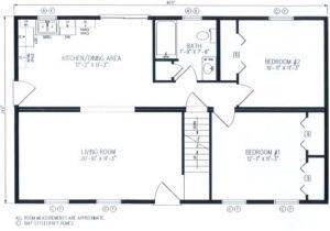 Modular Home Addition Plans Modular Home Plans 26×44 Ranch Unique House Plans