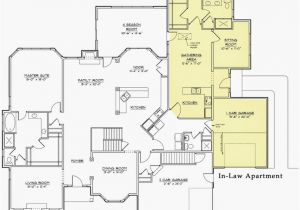 Modular Home Floor Plans with Inlaw Apartment Handicap Accessible Mother In Law Suite Detached Home