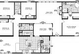 Modular Homes 4 Bedroom Floor Plans Four Bedroom Mobile Homes L 4 Bedroom Floor Plans