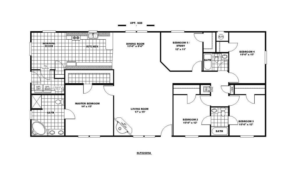 Modular Homes Floor Plan 6 Bedroom Modular Home Floor Plans ...