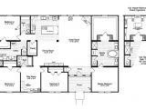 Modular Homes In Texas with Floor Plans the Casa Grande Vr41644a Manufactured Home Floor Plan or