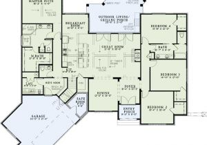Monster Home Plans European Style House Plans 2631 Square Foot Home 1