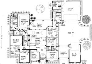Monster Home Plans European Style House Plans 2957 Square Foot Home 1