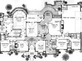 Monster Home Plans European Style House Plans 4615 Square Foot Home 1