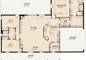 Monster Home Plans French Country Style House Plans 2405 Square Foot Home