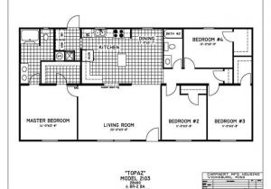 Monster Mansion Mobile Home Floor Plan 4 Bedroom Mobile Home Floor Plans House Plans