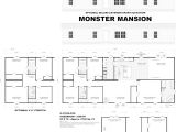 Monster Mansion Mobile Home Floor Plan Live Oak Homes Floor Plans