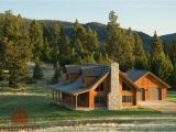 Montana Style House Plans Montana Cabin Floor Plan by Real Log Homes