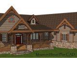 Montana Style House Plans Mountain House Plan Blueprints Custom Home Building