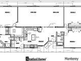 Monterey Homes Floor Plans Ranch Monterey
