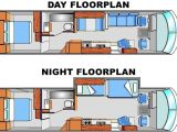 Motor Home Plans Day Night Floorplans Tiny Houses Pinterest Rv Bus