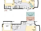 Motor Home Plans Motorhome Class C Floor Plans with Innovative Minimalist