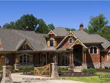 Mountain Craftsman Home Plan Garrell associates Inc Achasta House Plan 08103 Front