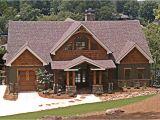 Mountain Craftsman Home Plan Single Story Craftsman House Plans Mountain Craftsman