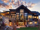 Mountain Home Plan Breathtaking Contemporary Mountain Home In Steamboat Springs