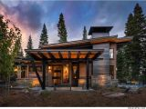 Mountain Home Plans This Modern Mountain Retreat is Ideal Place to Unwind